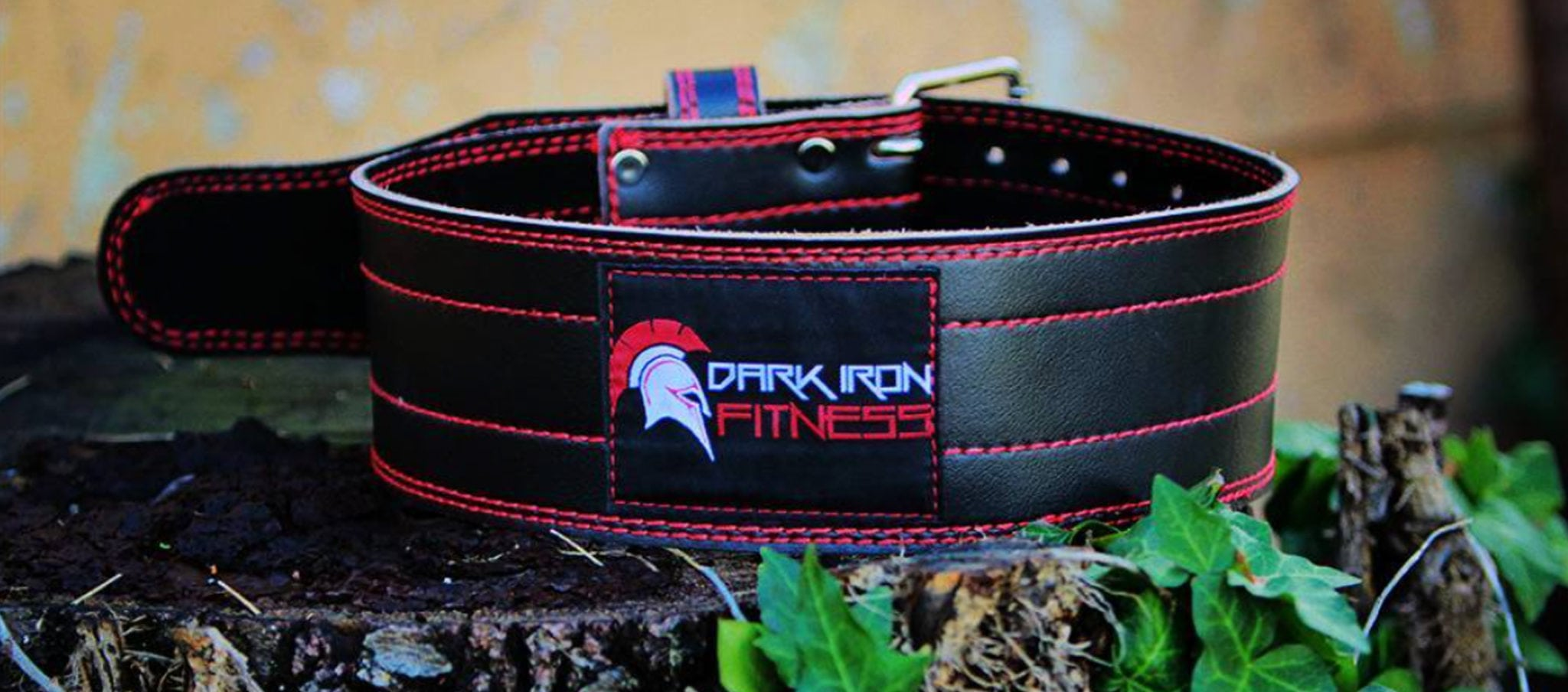 Become Optimally Fit at Home - Dark Iron Fitness Weightlifting Belt